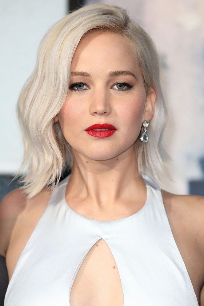 """LONDON, ENGLAND - MAY 09: Jennifer Lawrence attends a Global Fan Screening of """"X-Men Apocalypse"""" at BFI IMAX on May 9, 2016 in London, England. (Photo by Mike Marsland/Mike Marsland/WireImage)"""