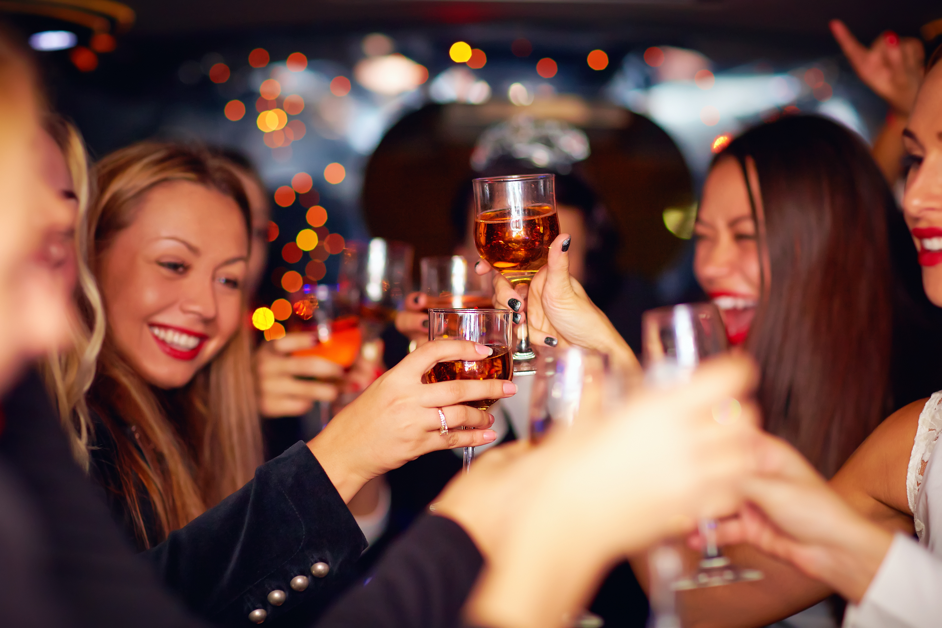 Beauty Guide for a Girls' Night Out
